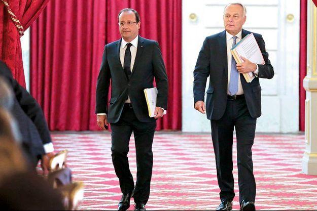 François Hollande et Jean-Marc Ayrault.