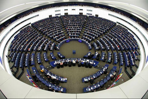 Le Parlement européen à Strasbourg, en novembre 2016.