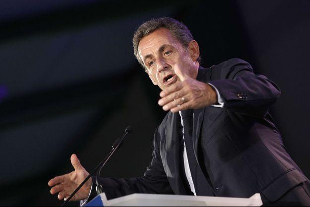 Nicola Sarkozy le 6 septembre à Poissy, dans les Yvelines.