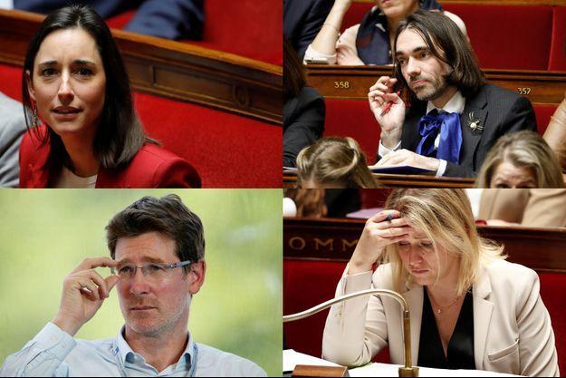 Brune Poirson, Pascal Canfin, Barbara Pompili et Cédric Villani.