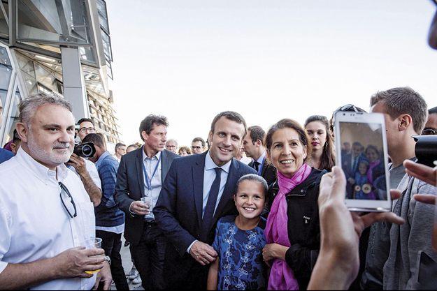 Le 24 septembre, à Lyon, ville où il est arrivé en tête au premier tour.
