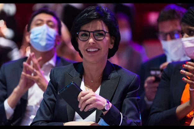 Rachida Dati, ici en juin lors d'un meeting de Valérie Pécresse pour les élections régionales.