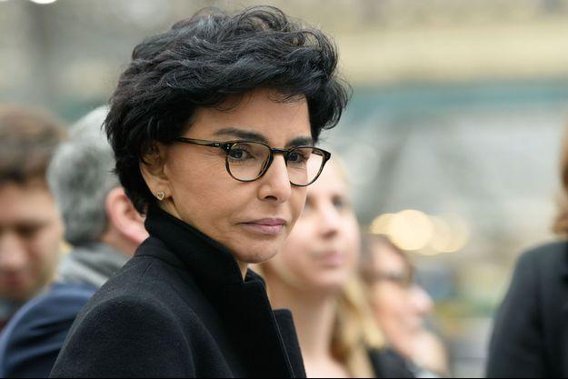 Rachida Dati, ici lors d'un déplacement à Paris fin février.