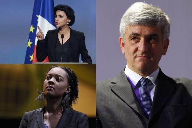Rachida Dati, Hervé Morin et Rama Yade.