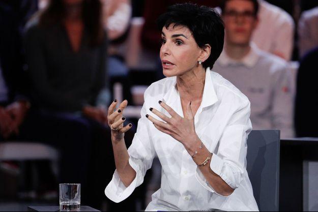 """Rachida Dati, ici en janvier dans """"L'émission politique""""."""
