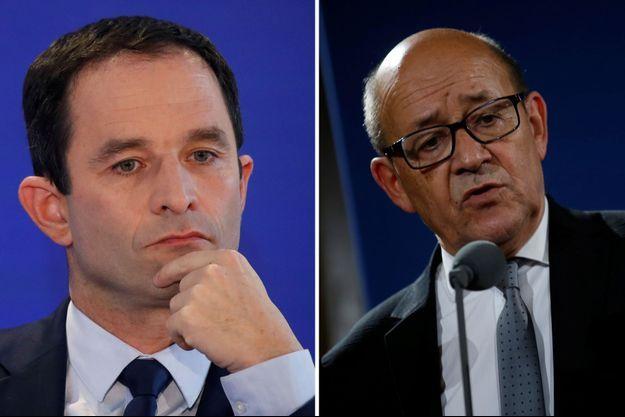 Benoît Hamon dénonce le ralliement de Le Drian à Macron.