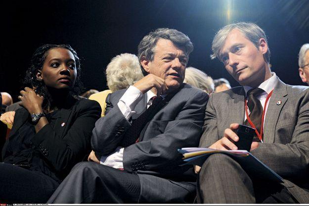 Rama Yade, Jean-Louis Borloo et Laurent Hénart.
