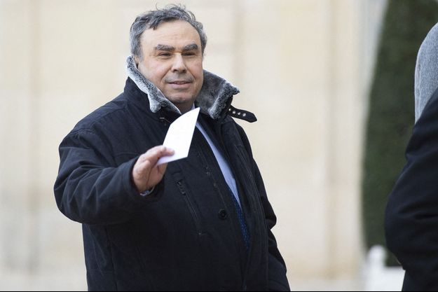 L'historien Benjamin Stora à l'Elysée en mars 2019.