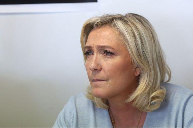 Marine Le Pen en mai 2021.