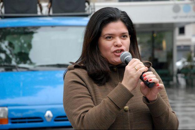 Raquel Garrido en avril 2014.