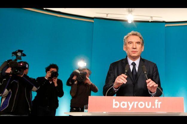 François Bayrou, jeudi soir.