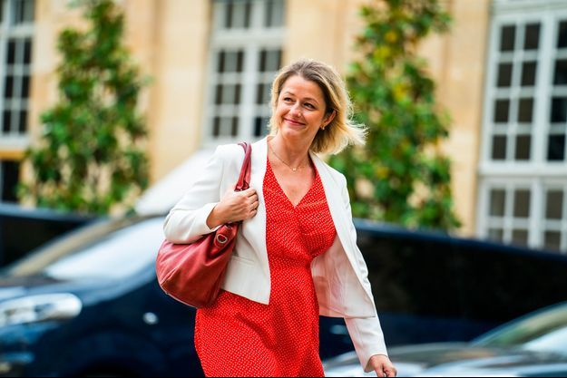 Barbara Pompili à Matignon, le 20 juillet dernier.