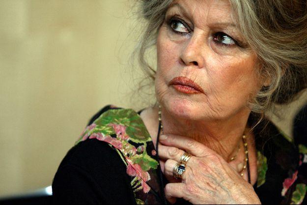 Brigitte Bardot, ici en mai 2003, a été reçue mardi à l'Elysée par Emmanuel Macron.