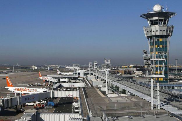 Vue de l'aéroport d'Orly en 2015.