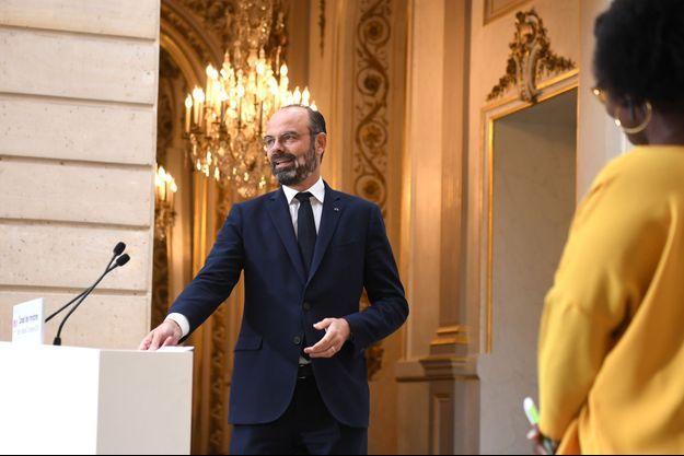 Edouard Philippe mercredi à l'issue du Conseil des ministres.
