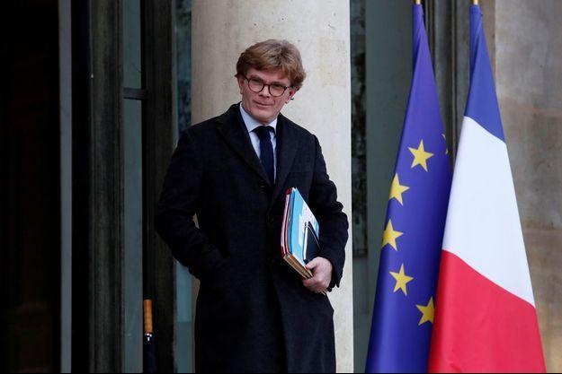 Marc Fesneau, ministre chargé des Relations avec le Parlement, ici à l'Elysée fin décembre 2019.