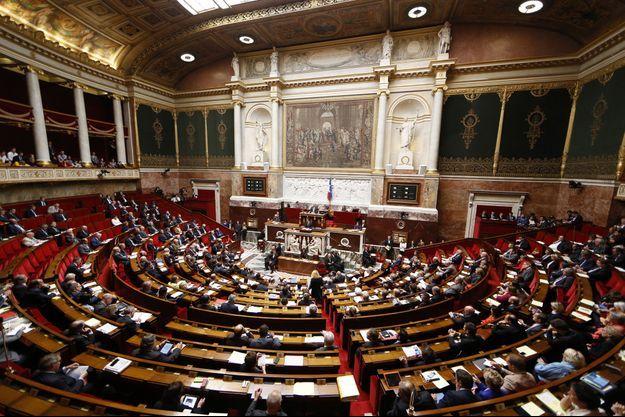 L'hemicycle de l'Assemblée nationale en septembre dernier.
