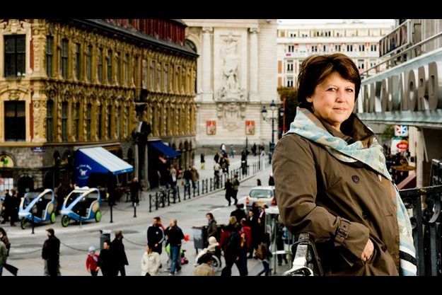 Martine Aubry à Lille