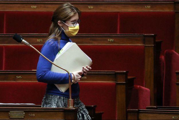 Aurore Bergé à L'Assemblée nationale le 29 mars.