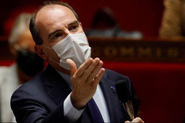 Jean Castex à l'Assemblée nationale mardi.