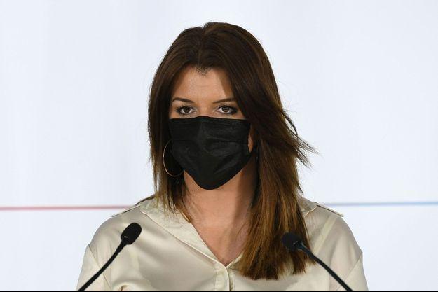 Marlène Schiappa, à Paris le 20 avril.