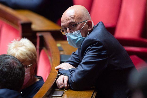 Eric Ciotti, le 1er juin à l'Assemblée nationale.
