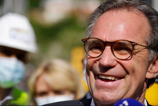 Renaud Muselier, le 3 mai à Nice.