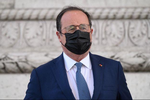 François Hollande en mai 2021.