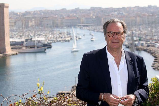 Renaud Muselier à Marseille.