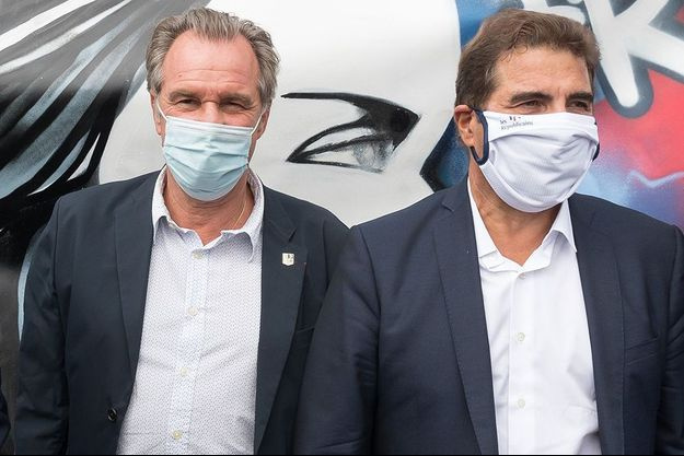 Renaud Muselier et Christian Jacob en septembre 2020.