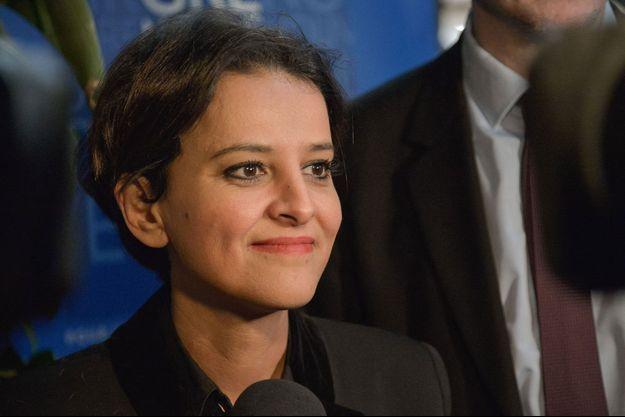 Najat Vallaud-Belkacem ici en février 2020 à Grenoble.