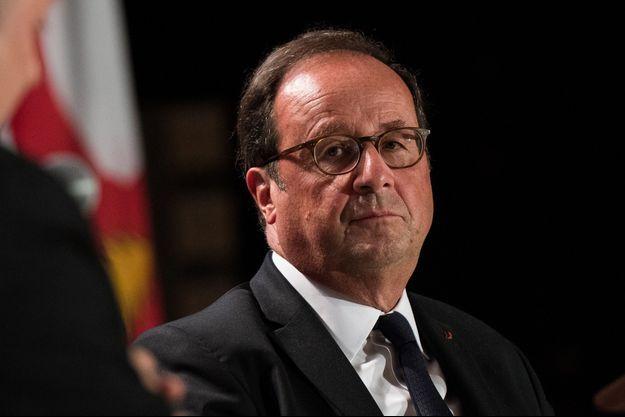 François Hollande ici en septembre lors d'une conférence à Montréal.