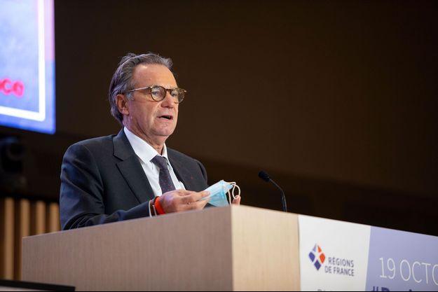 Renaud Muselier au congrès de Régions de France, le 19 octobre, à Saint-Ouen.