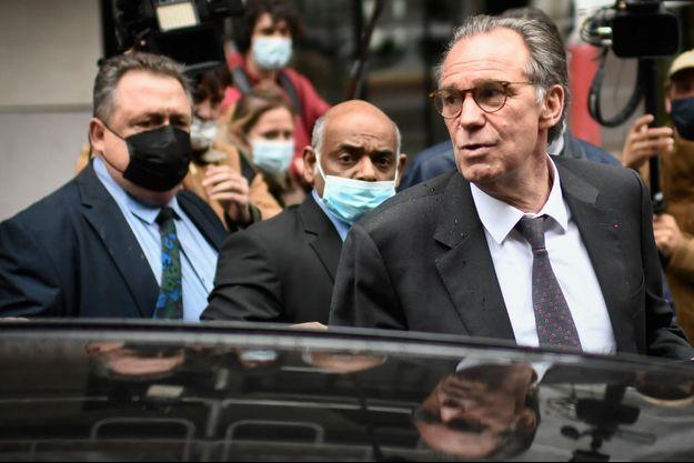Renaud Muselier, mardi au siège des Républicains à Paris.