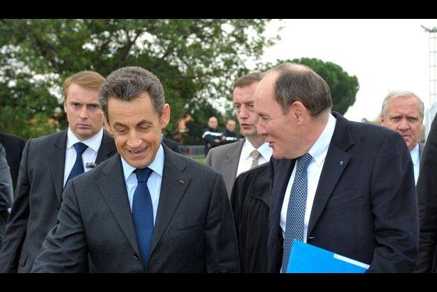 René Ricol avec Nicolas Sarkozy en novembre 2011
