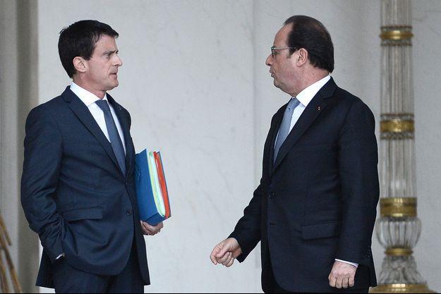 Manuel Valls et François Hollande se sont entretenus au téléphone après l'allocution présidentielle.