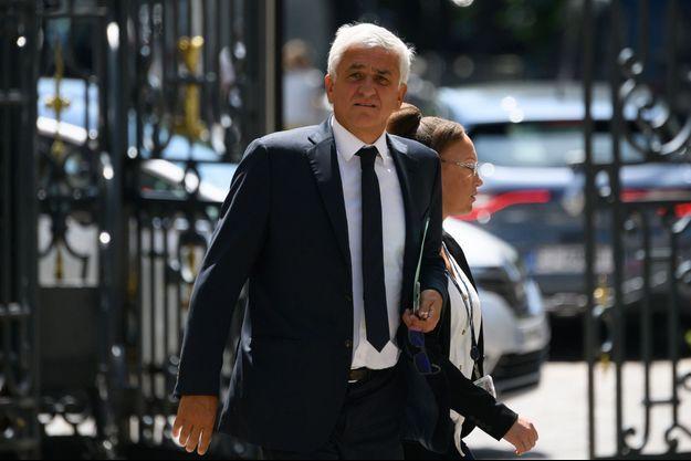 Hervé Morin, fin mai au ministère de l'Intérieur.