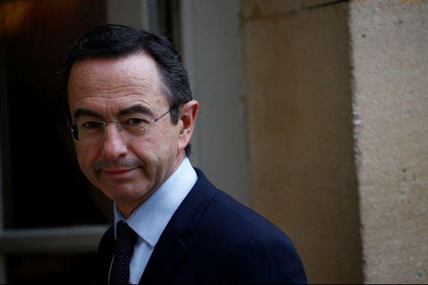 Le patron des sénateurs LR Bruno Retailleau.