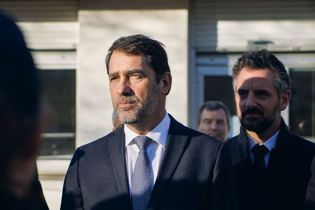 Christophe Castaner à Rennes le 20 janvier 2020.