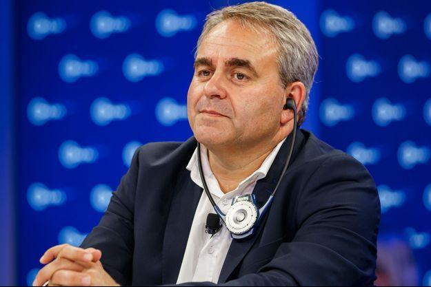 Le président de la région Hauts de France, Xavier Bertrand.