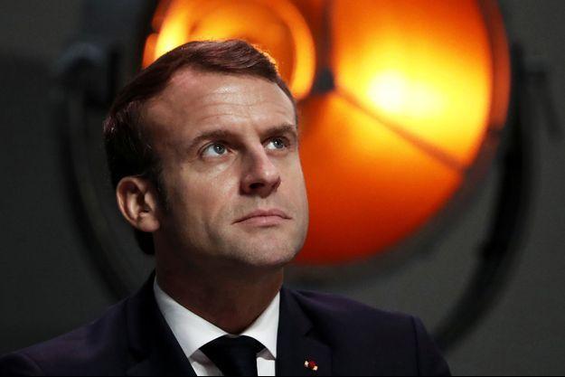Emmanuel Macron ici à Montpellier mardi.