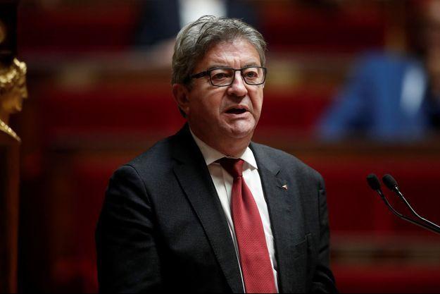 Jean-Luc Melenchon, ici en octobre à l'Assemblée nationale.