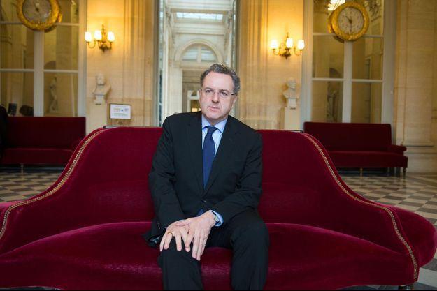 Richard Ferrand à l'Assemblée nationale.