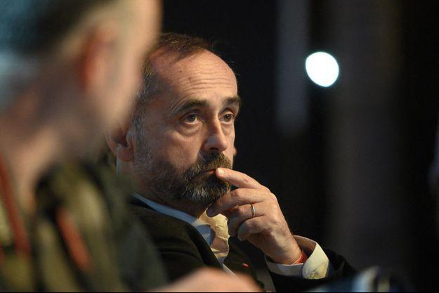"""Robert Ménard ici en septembre 2019 à la """"Convention De La Droite"""" à Paris."""