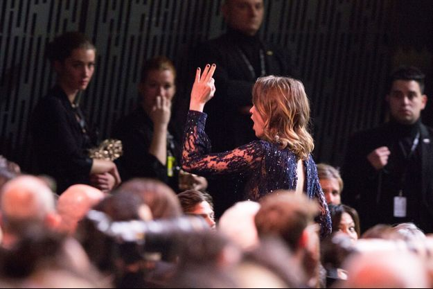 """Adèle Haenel avait quitté la cérémonie des César en criant """"La honte""""."""
