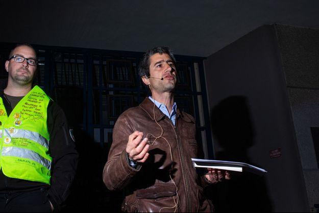 François Ruffin, ici à Rennes fin mars pour présenter son film.