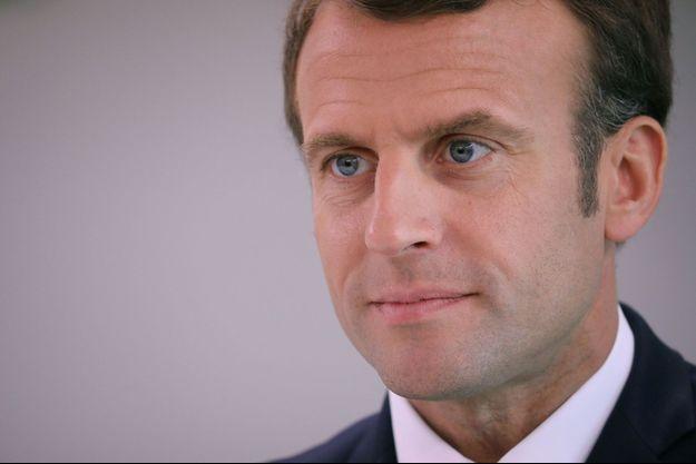 Emmanuel Macron à Cozzano, le 4 avril 2019.