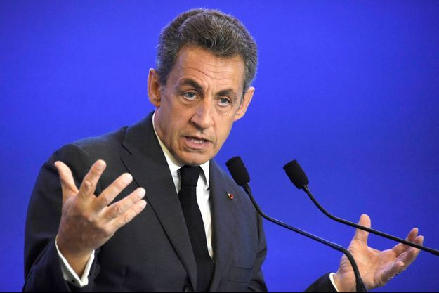 Nicolas Sarkozy, le 9 janvier 2016