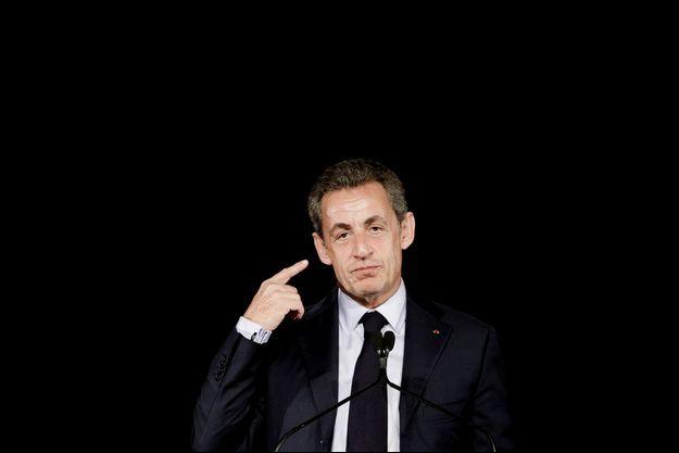 Nicolas Sarkozy à Saint-Maur-des-Fossés, le 14 novembre.