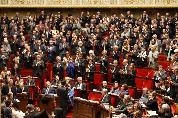 Manuel Valls à l'Assemblée nationale, mardi.